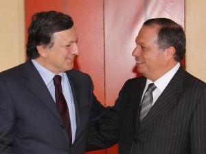 Presidentes RUP com o Presidente da Comissão Europeia