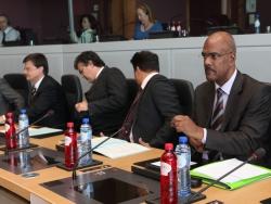 Presidentes RUP com a Comissária dos Assuntos Marítimos e Pescas